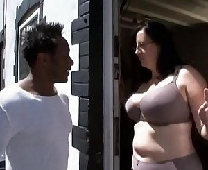 Mature big ass fucked by black