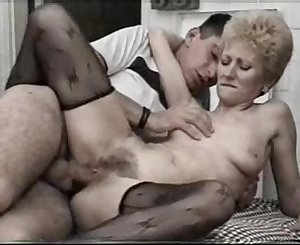 Blonde Mummy Fucks